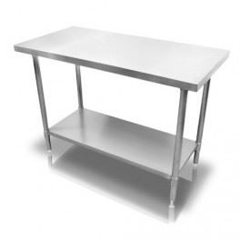 table de travail en acier inox 1200 750x860 mm achat. Black Bedroom Furniture Sets. Home Design Ideas
