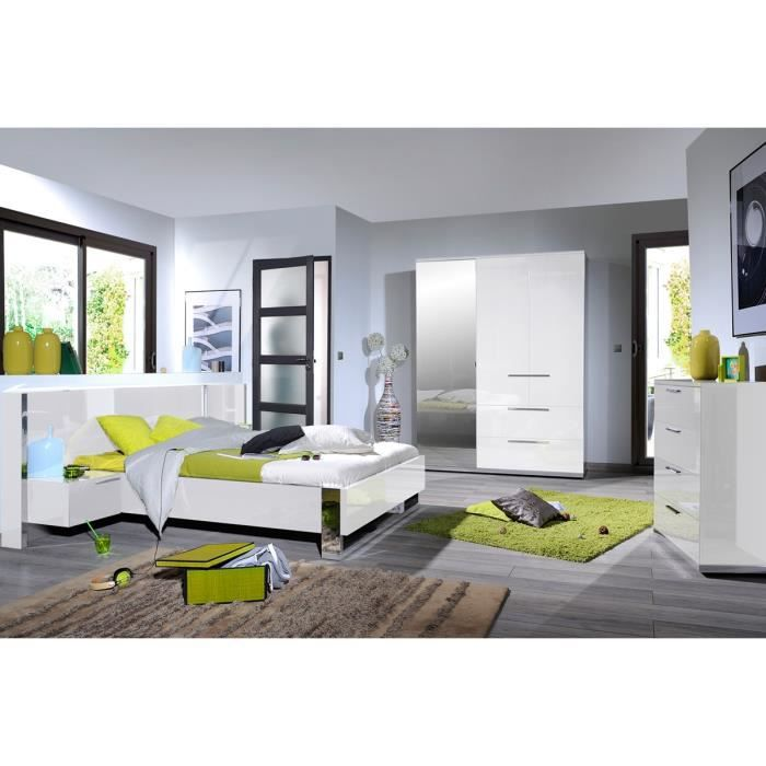 Chambre adulte compl te 160 200 sunny n 4 achat - Chambre adulte cdiscount ...