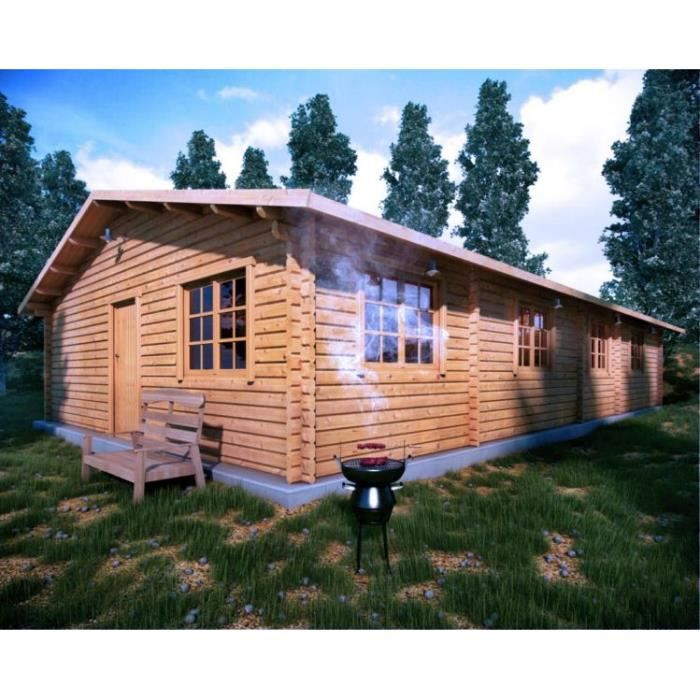 chalet en bois habitable 100m2 achat vente abri jardin chalet chalet en bois habitable. Black Bedroom Furniture Sets. Home Design Ideas