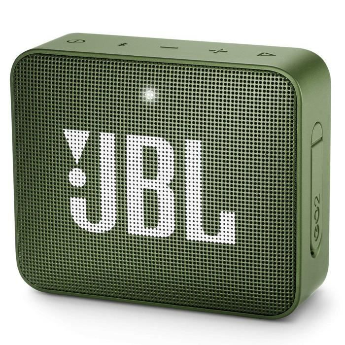 ENCEINTE NOMADE JBL GO2 Mini Enceinte Portable Bluetooth – Vert