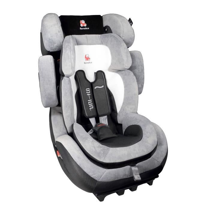 Renolux si ge auto step 123 black groupe 1 2 3 achat - Siege auto isofix inclinable groupe 2 3 ...