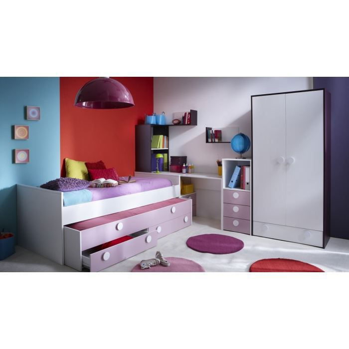 Chambre complete cdiscount maison design for Chambre jungle cdiscount