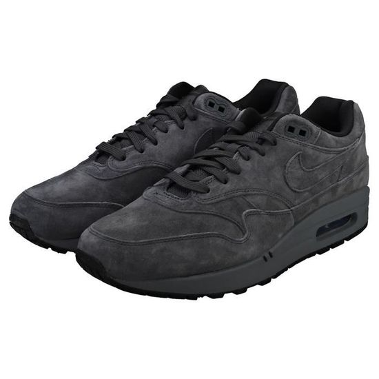Nike Air Max 1 Premium Homme Baskets Anthracite Anthracite ...