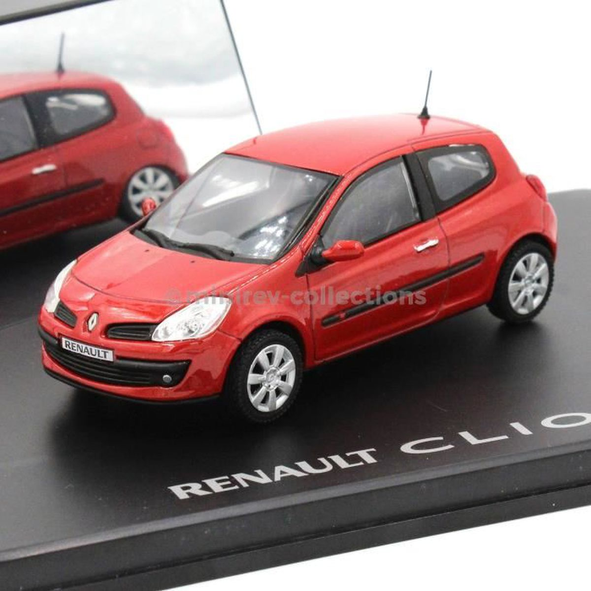 Eligor Renault Clio 3 Portes Rouge Volcan 2005 Rouge Achat