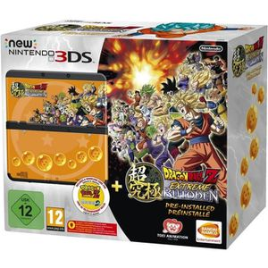 CONSOLE NEW 3DS New 3DS + Dragon Ball Z : Extreme Butoden Préinsta