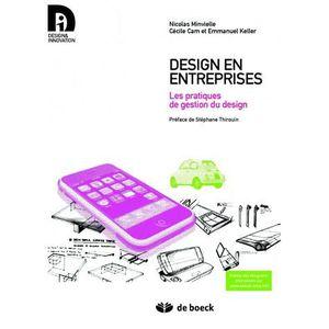 LIVRE GESTION Design en entreprises
