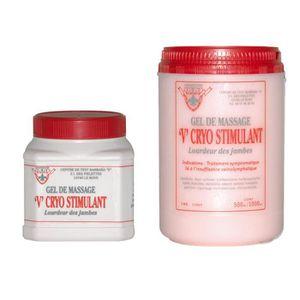 HUILE - LAIT MASSAGE Gel de massage V Cryo stimulant