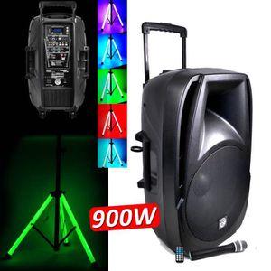 PACK SONO Enceinte Active amplifiée Sonorisation Batterie am