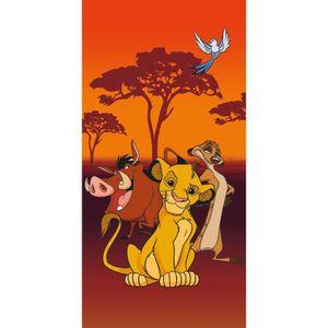 SERVIETTES DE BAIN Le Roi Lion Disney - Serviette de Bain - Drap de P