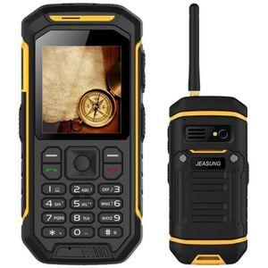 Téléphone portable Téléphone Mobile Portable Walkie Talkie 2500mAh Ro