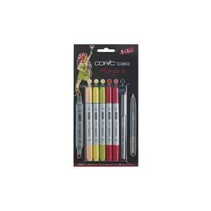 arts loisirs papeterie fournitures scolaires copic set de marqueur hobby ciao  manga f cop