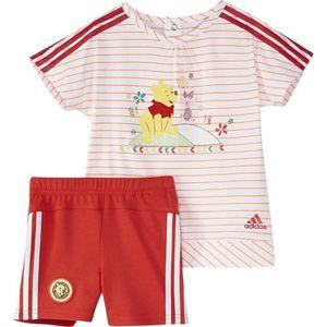 Ensemble de vêtements ADIDAS Ensemble T-shirt + Short Bébé Fille