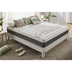 MATELAS Matelas TOP CARESS 160x200 cm Epais-Multicouches h