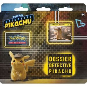 CARTE A COLLECTIONNER POKEMON - Pack Film Détective Pikachu - 3 boosters