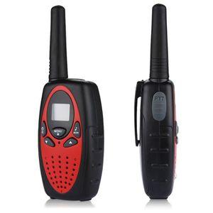 TALKIE-WALKIE 8 Canaux Lot de 4 talkies walkies UHF 400-470 MHZ