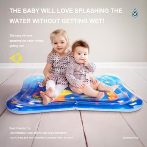 101*81cm Tapis d'eau Centre de Jeu Gonflable de bébé d'activité d'enfant monde océan nouveau
