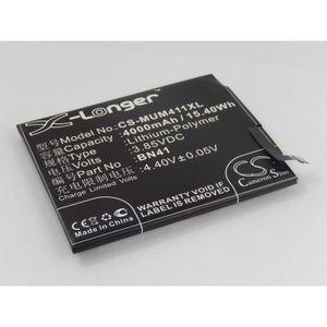 Batterie téléphone vhbw Li-Polymère batterie 4000mAh pour téléphone p