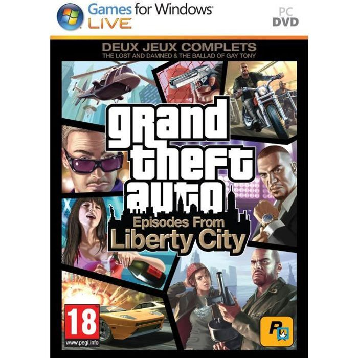 JEU PC Gta : Episodes From Liberty City Jeu PC