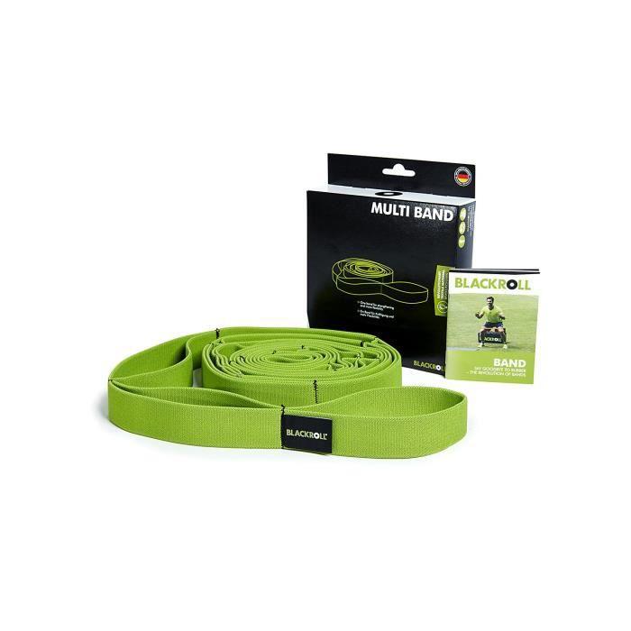 BLACKROLL MULTI BAND (270 cm) - Bande Élastique Multifonctionnelle de Fitness avec différents niveaux de Résistance -