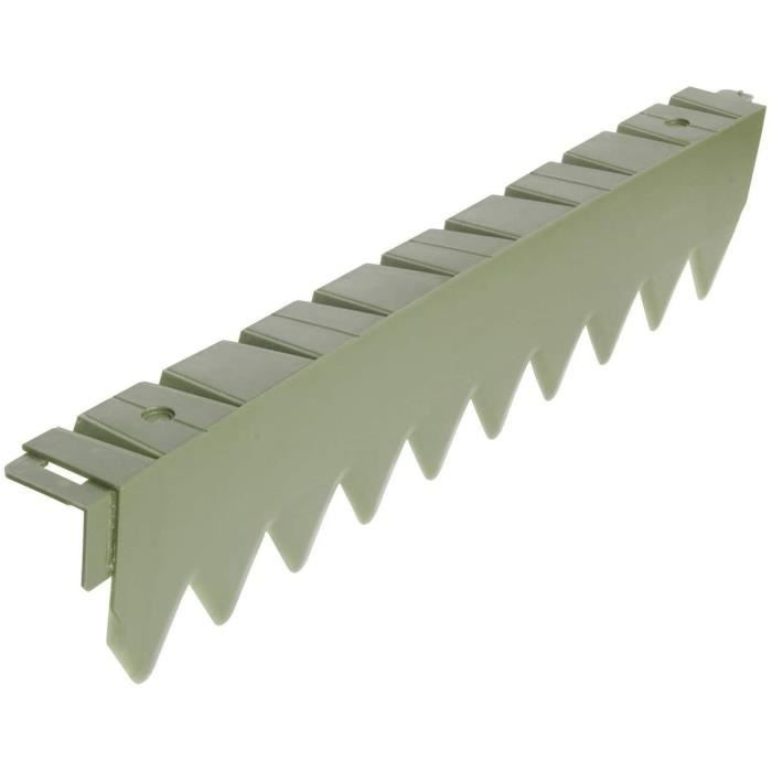 bordure jardin Bellissa Bordure de pelouse confort 50 cm sans bord, en plastique, flexible, bordure de plate-bande, limitation, 253