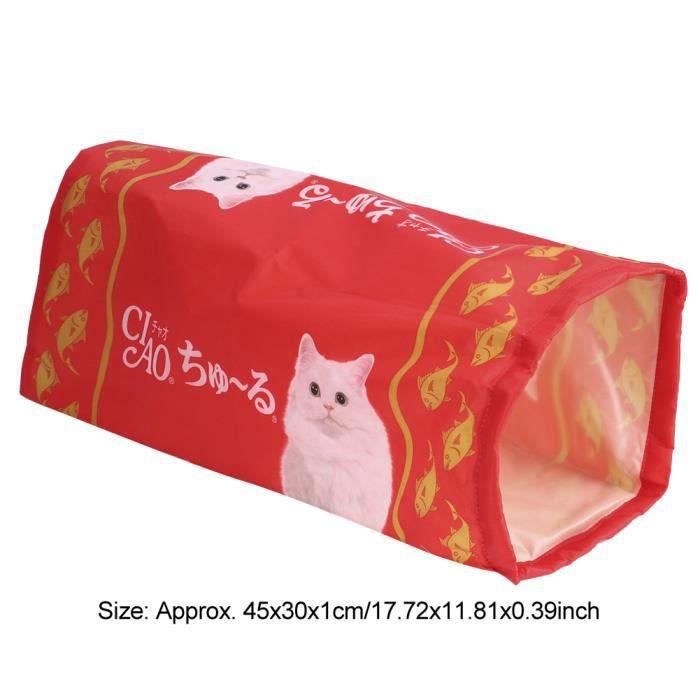 Tunnel pour chat,jouet pour chat,tapis pour chat,tunnel pour chat pliable-TIP