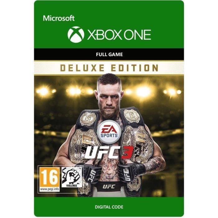 UFC 3: Edition Deluxe Jeu Xbox One à télécharger