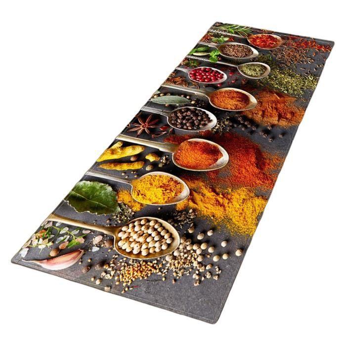 Tapis de cuisine confort tapis de sol rembourré évier de maison entrée couloir tapis chambre décor long tapis D 40x120cm