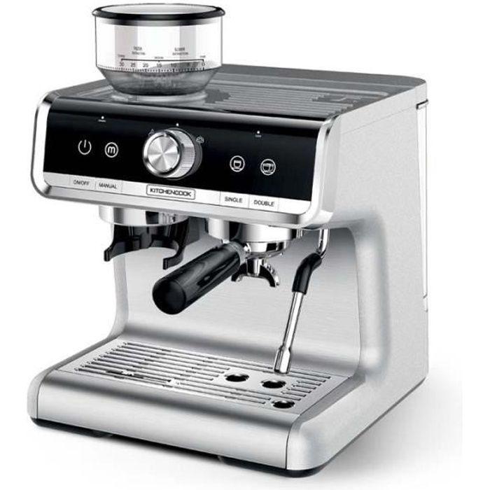 Machine A Expresso Avec Broyeur Barista Professionnel Home Bistro De Kitchencook