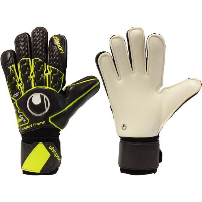 UHLSPORT SUPERSOFT SUPPORTFRAME Gants de gardien de but