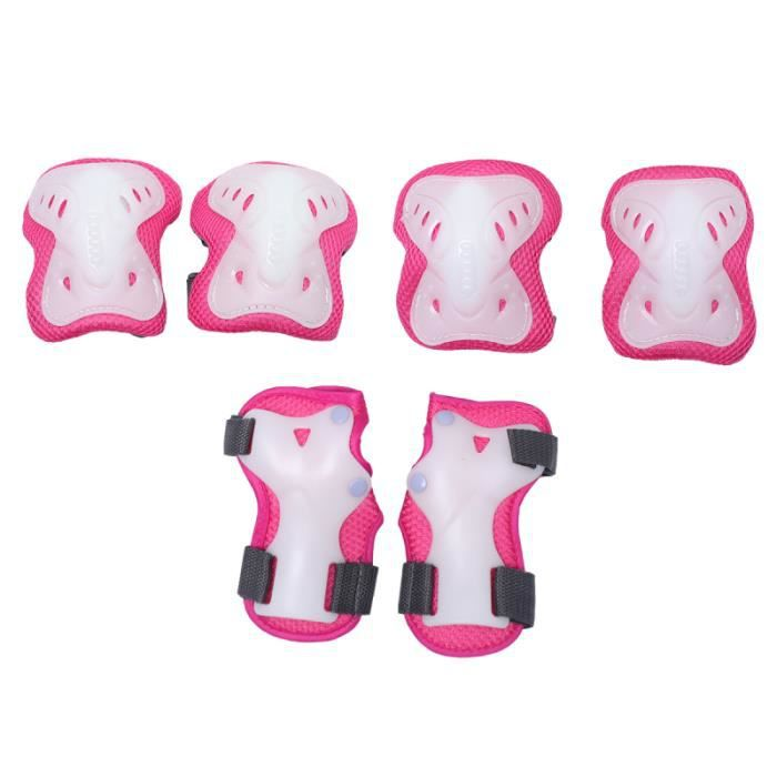 6pcs fournitures de patinage durables pour fille ROLLER IN LINE