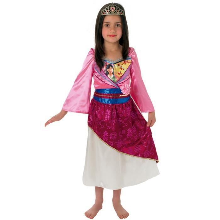RUBIE'S. Déguisement de Mulan Classic pour fille. 5 ans. Enfant