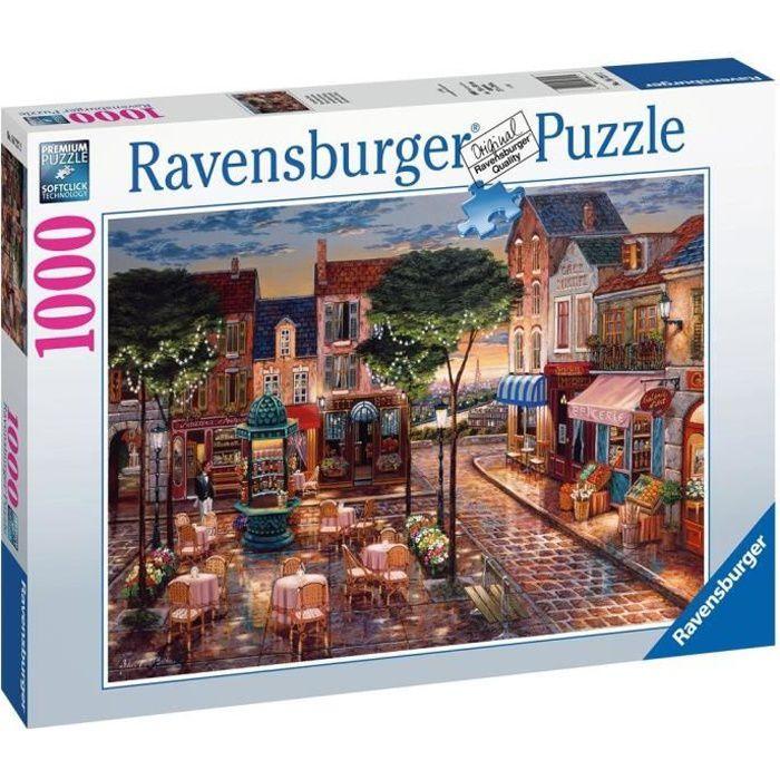 Puzzle 1000 pièces - Paris en peinture - Ravensburger - Puzzle adultes - Dès 14 ans