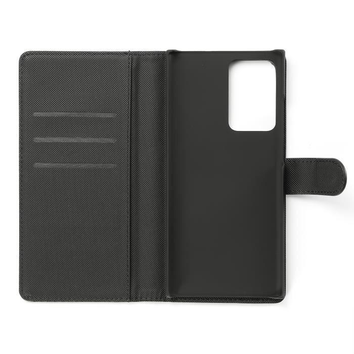 Etui de protection WE noir pour Samsung Galaxy NOTE 20 ULTRA Résistant aux chocs et chûtes. Accès caméra et multi-position. Noir