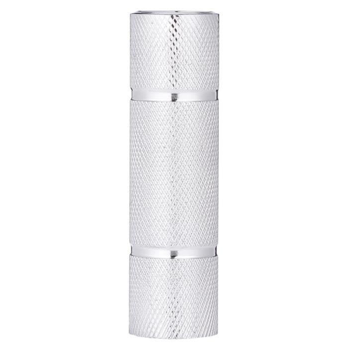 Barre de connexion haltère de Barbell Accessoires d'équipement d'haltérophilie (Argent 10cm) BARRE - HALTERE - POIDS