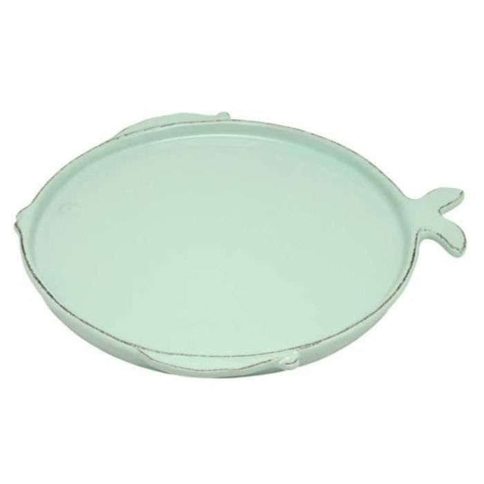 Casa virginia 27 cm assiette aqua marina achat vente for Casa art de la table