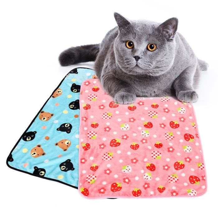 ( M Rose) Tapis Animal Pet Couverture De Chat Chien À Coucher