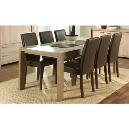 table de salle manger efia achat vente table a manger seule table de salle manger efia. Black Bedroom Furniture Sets. Home Design Ideas
