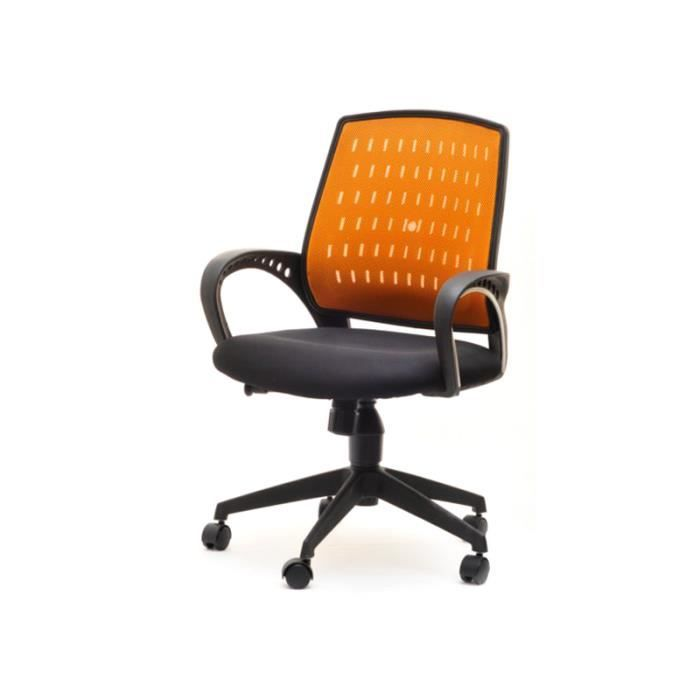 fauteuil de bureau gary orange achat vente chaise de bureau orange cdiscount. Black Bedroom Furniture Sets. Home Design Ideas
