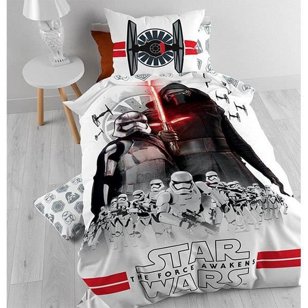 parure de lit star wars attack episode 7 achat vente housse de couette cdiscount. Black Bedroom Furniture Sets. Home Design Ideas