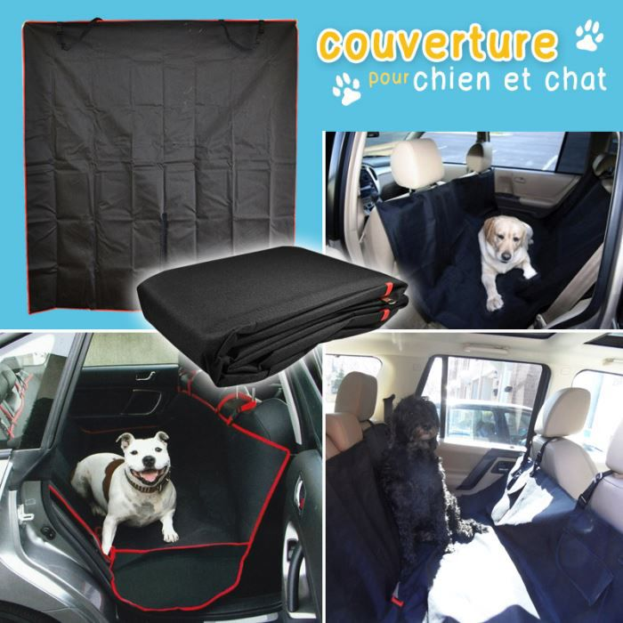couverture voiture pour chien et chat achat vente b che de protection couverture voiture. Black Bedroom Furniture Sets. Home Design Ideas