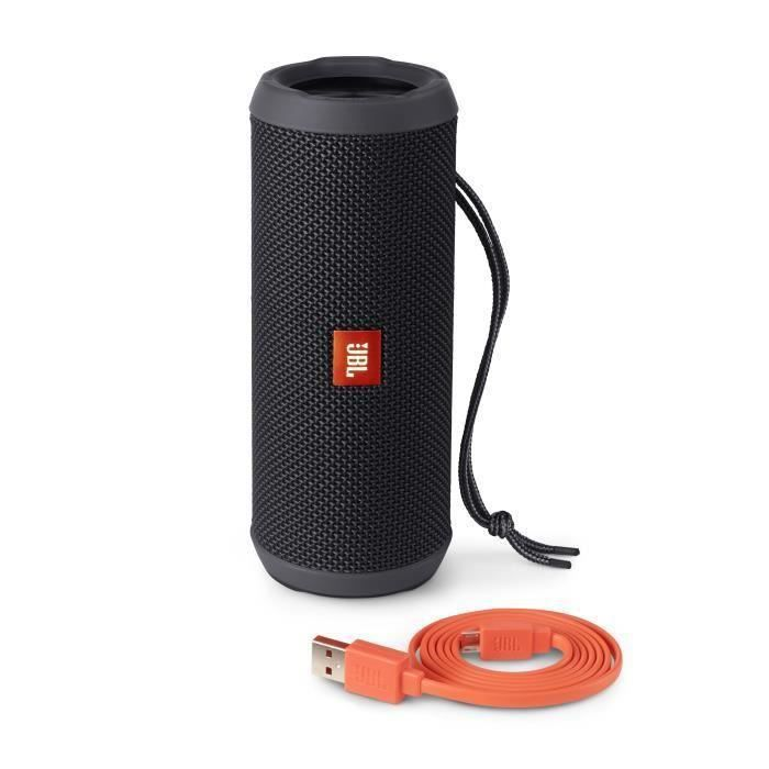 jbl flip 3 enceinte bluetooth 4 1 noir enceinte nomade. Black Bedroom Furniture Sets. Home Design Ideas