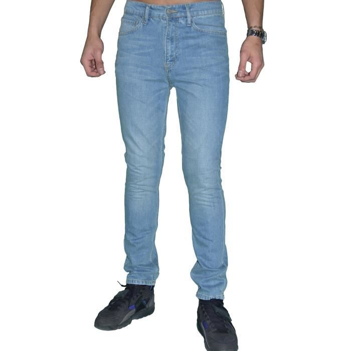 levis jean homme 510 skinny fit light used bleu. Black Bedroom Furniture Sets. Home Design Ideas