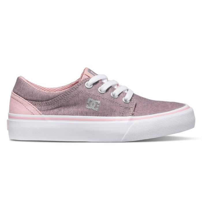 Chaussures DC Trase Tx Se Youth Pwo Pink Rose