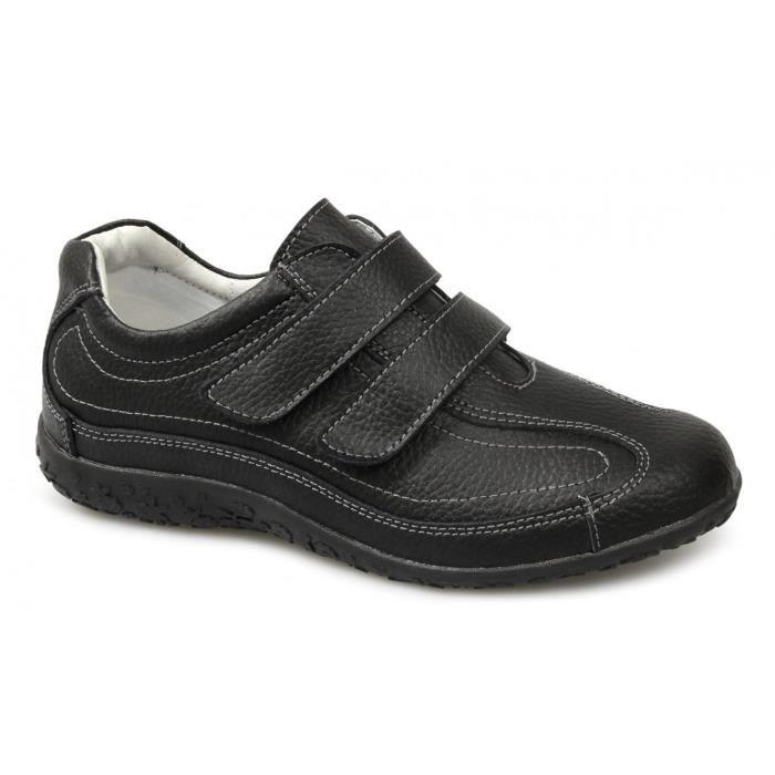 Boulevard Sabrina Femmes Extra Large Eee Compatible avec Velcro Chaussures Noir