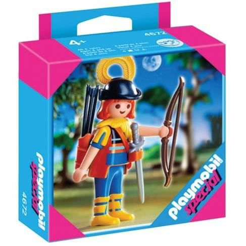 UNIVERS MINIATURE PLAYMOBIL® 4672 ARCHER DE LA FÔRET