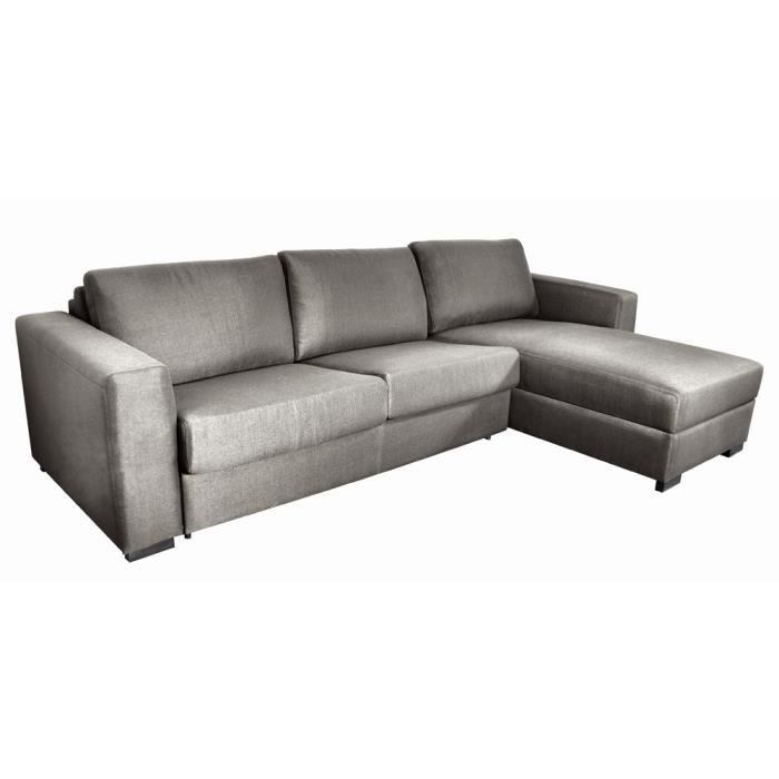 canap d 39 angle convertible et r versible 5 places switsofa bello gris a. Black Bedroom Furniture Sets. Home Design Ideas