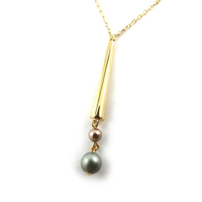 Altesse [N0672] - Collier Argent Pearl Beauty