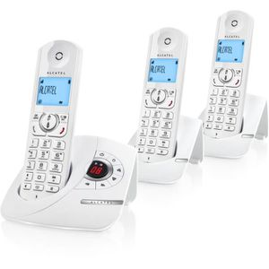 Téléphone fixe Pack ALCATEL F360 VOICE TRIO BLANC