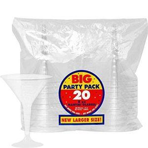 100 x jetable en plastique clair bombe Shot Jelly Jager bombe Lunettes party Shots