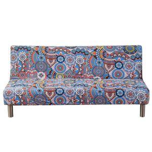 HOUSSE DE CANAPE Couverture de canapé-lit pliante sans bras Couvert